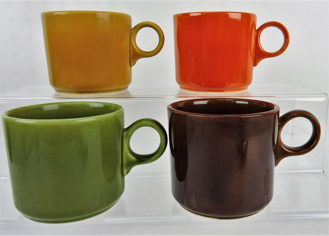 Fiesta mug group of 4, Casualtone,