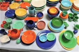 Fiesta lot of 67 pieces, various