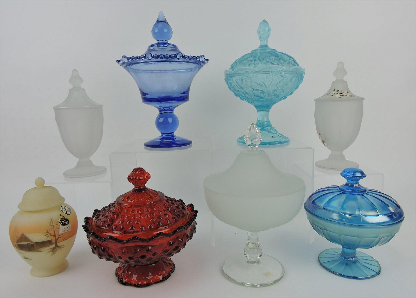 Fenton and other makers lot of