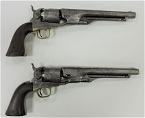 Pair of Colt's Patent .44 caliber black