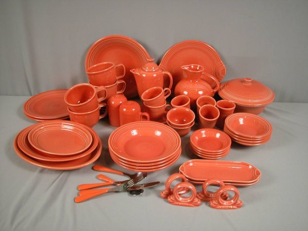 2013: Fiesta Post 86 Persimmon group - 53 pieces - chop
