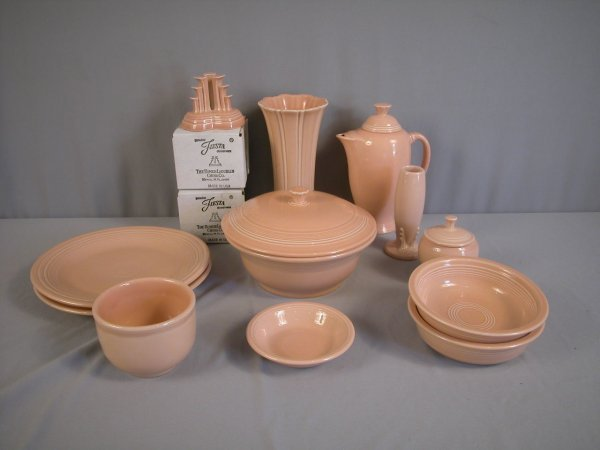 2020: Fiesta Post 86 Apricot group - 13 pieces - pair p