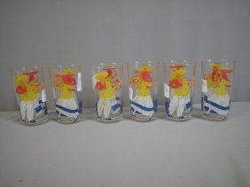 Fiesta Riviera Mexicanna Set Of 6 Go-along Glass