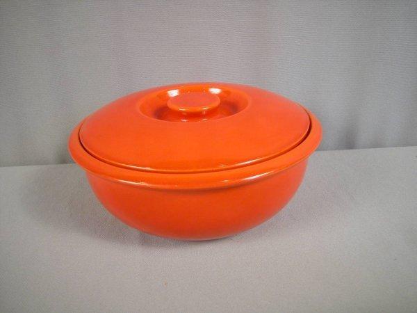 2084: Fiesta red promotional casserole