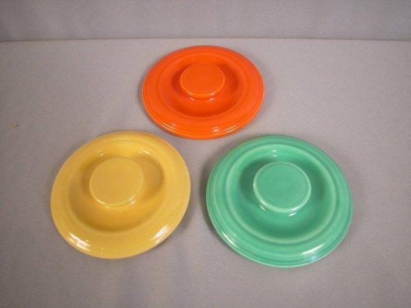 2086: Fiesta Kitchen Kraft individual casserole lids -