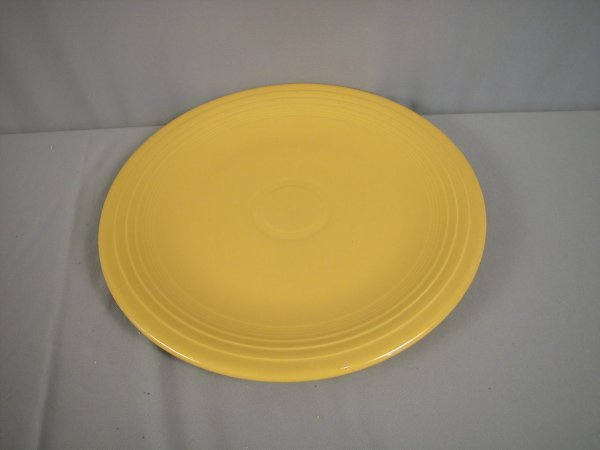 "2193: Fiesta yellow 15"" chop plate"