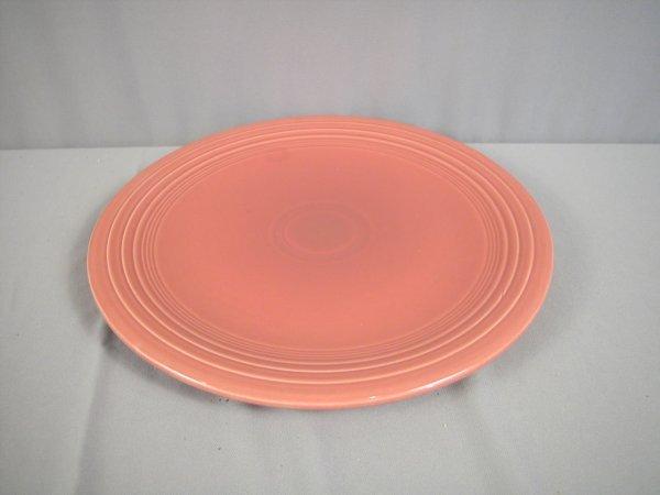 """2194: Fiesta rose 15"""" chop plate"""