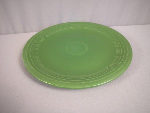 """2196: Fiesta forest green 15"""" chop plate"""
