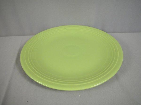 "2197: Fiesta chartreuse 15"" chop plate"
