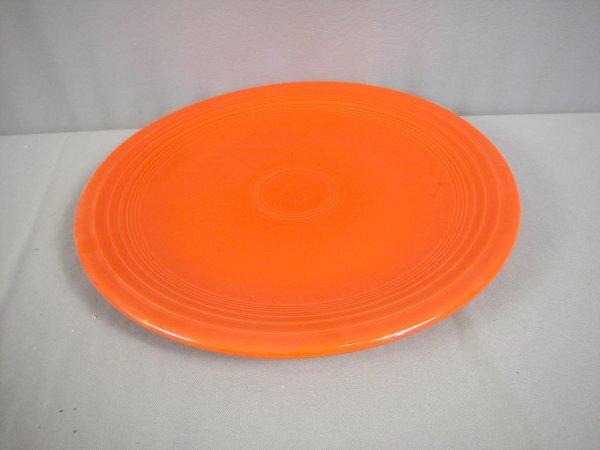 """2198: Fiesta red 15"""" chop plate"""