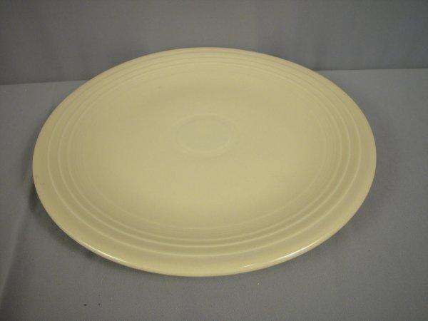 "2200: Fiesta ivory 15"" chop plate"