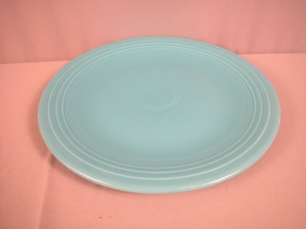 "2201: Fiesta turquoise 15"" chop plate"