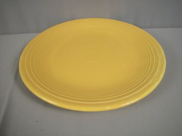 "2203: Fiesta yellow 15"" chop plate"