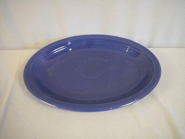 2209: Fiesta cobalt platter