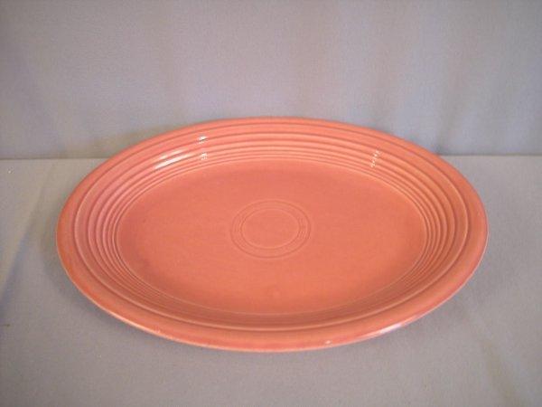 2210: Fiesta rose platter