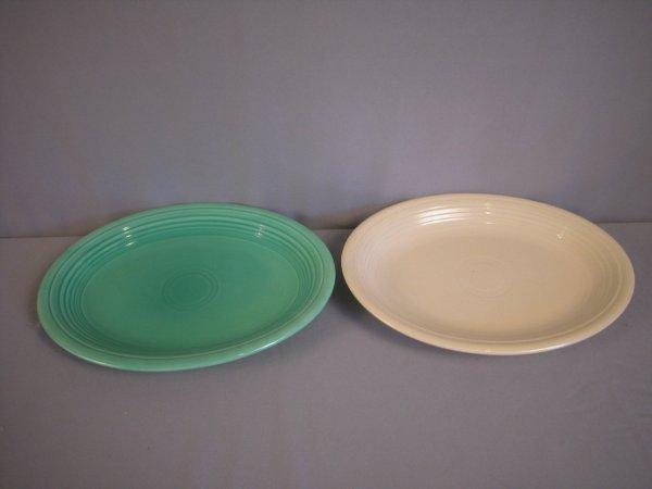2211: Fiesta platter group - light green and ivory