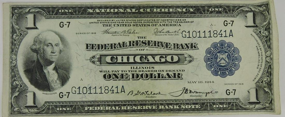 1914 $1.00 National Currency, Federal