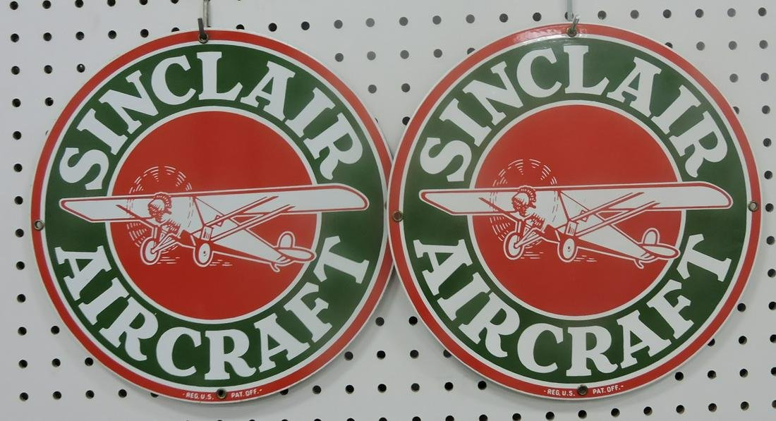 Contemporary pair of Sinclair Aircraft