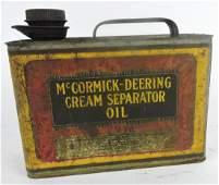 McCormick Deering Cream Separator