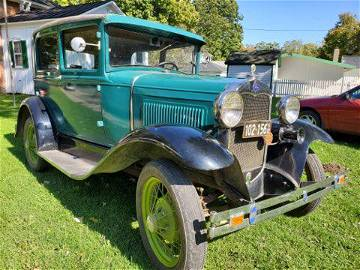1930 Ford Model A two door coupe,