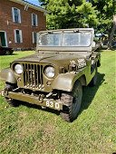 1953 Willys Military (Army) Jeep, older