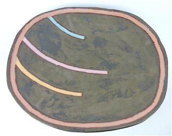 Jun Kaneko (1942 Japan) studio pottery