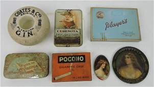 Lot of 7 advertising pieces: