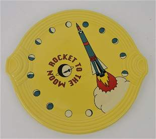 RARE Fiesta Post 86 Rocket to the Moon