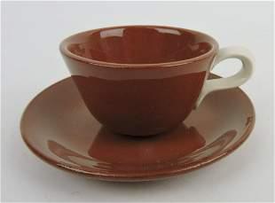 HLC Suntone miniature cup & saucer