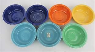 "Fiesta 5 1/2"" fruit bowl group, mixed"