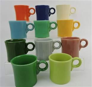 Fiesta mug set, all 11 colors