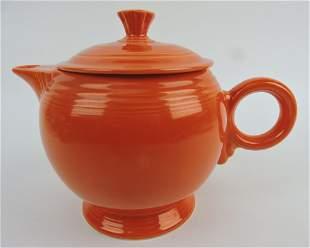Fiesta large teapot, red