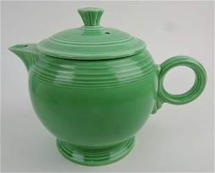 Fiesta large teapot, green