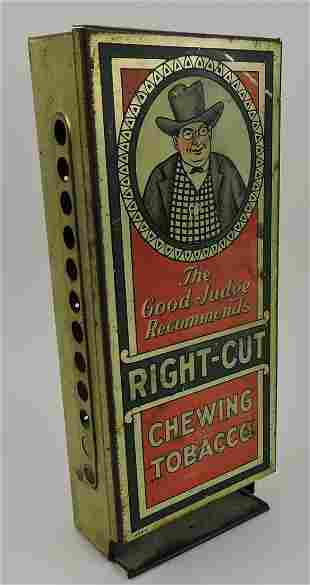 Right Cut Chewing Tobacco store display
