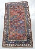 """Antique estate Oriental rug, 6'4""""x3'5"""""""