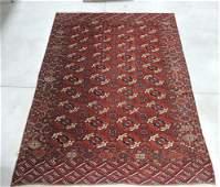 """Antique estate Oriental rug, 9'3""""x7'2"""""""
