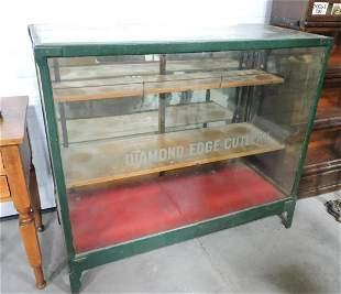"Glass store display case ""Diamond"