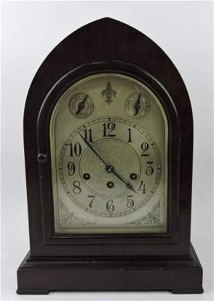 """Seth Thomas beehive clock, 15"""", no key"""
