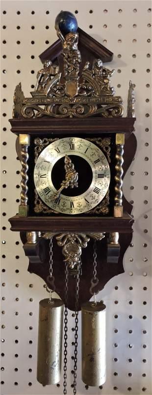 """Dutch weight clock, 18"""""""