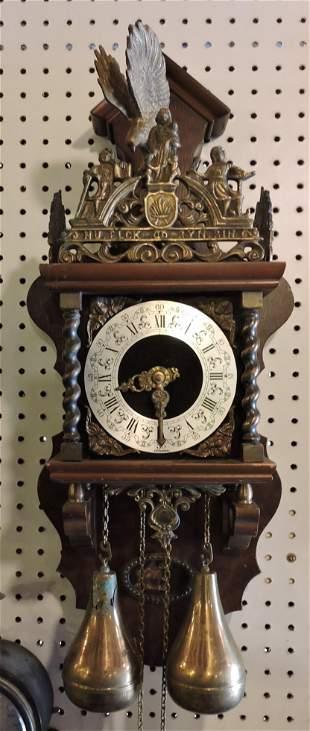 """Dutch weight clock, 24"""""""