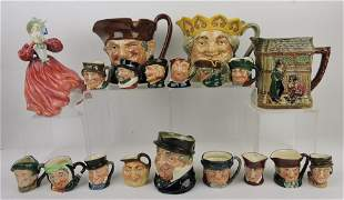 Royal Doulton lot of 19 pieces: