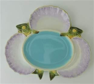 Minton majolica fish and shells seafood