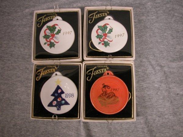 7: Post 86 Fiesta Christmas ornaments, 2-1997 Holly, 19