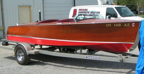 """42: 1942 Chris Craft Special Runabout, """"Too"""