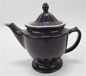 Hall China Centennial teapot, purple