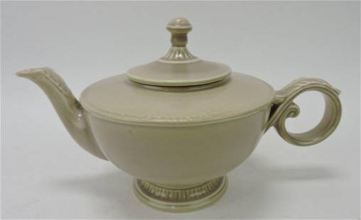 Hall China E-style teapot with