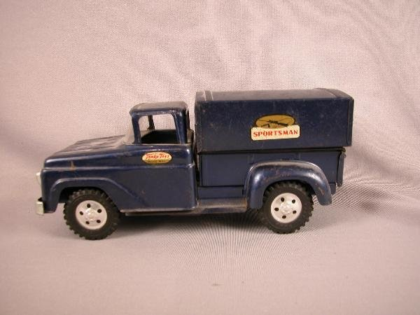 "18: Tonka ""Sportsman"" truck with topper"