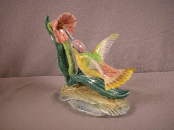 "1003: Stangl Pottery hummingbird,#3627, 6"", repair to w"