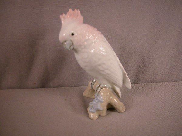 "1007: Royal Dux bird, 7"""