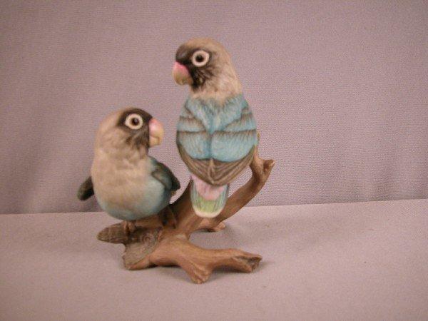 "1010: Boehm Baby Lovebird group,#400-58, 5 1/4"""